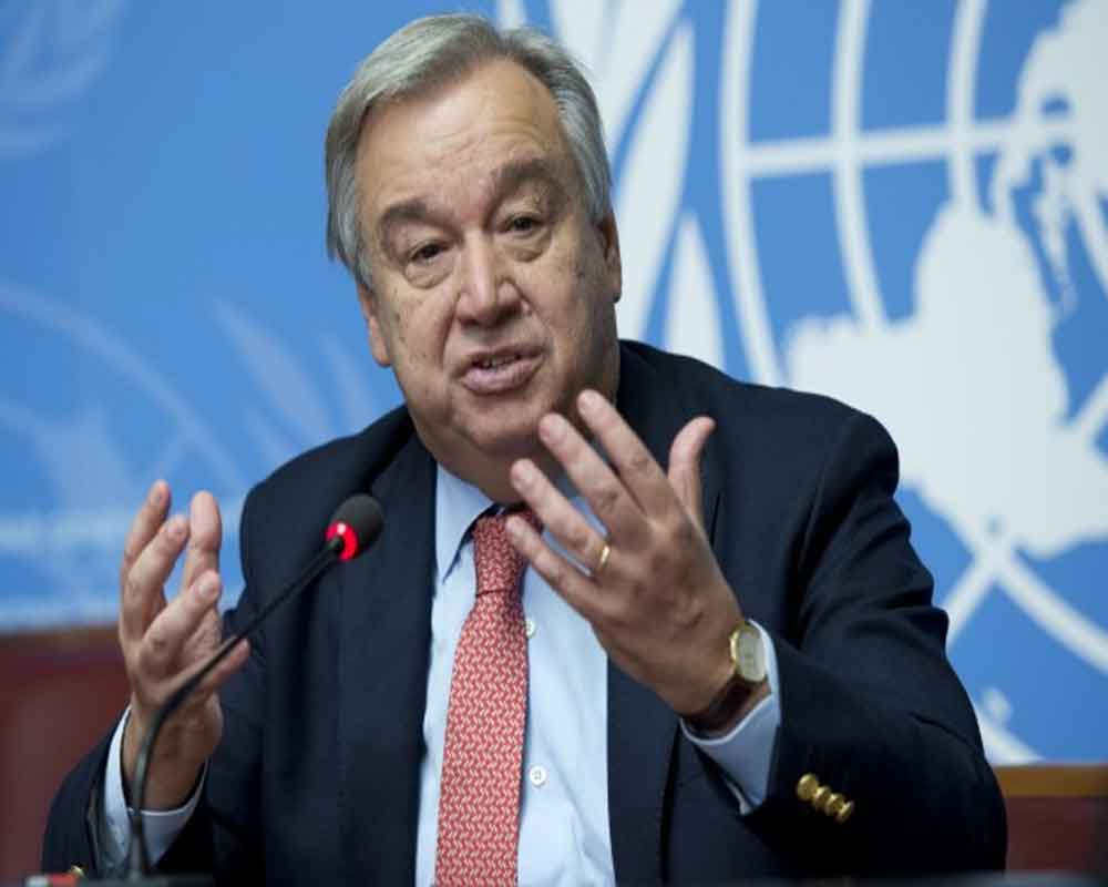 UN chief Guterres says 'deeply concerned' by Amazon fires