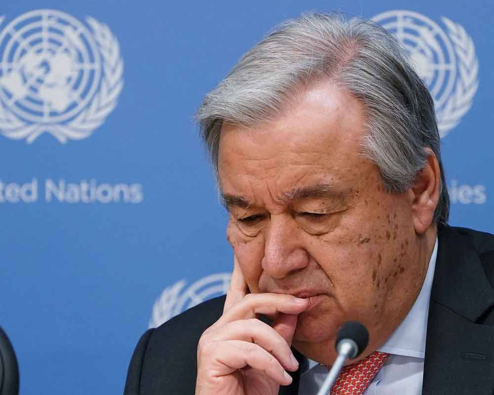 UN may run out of money by end of the month: Guterres
