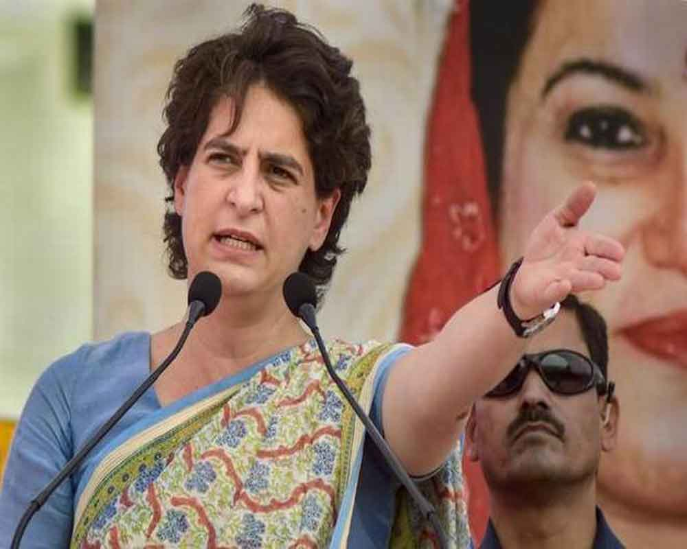 UP govt remembers farmers only in advertisements: Priyanka