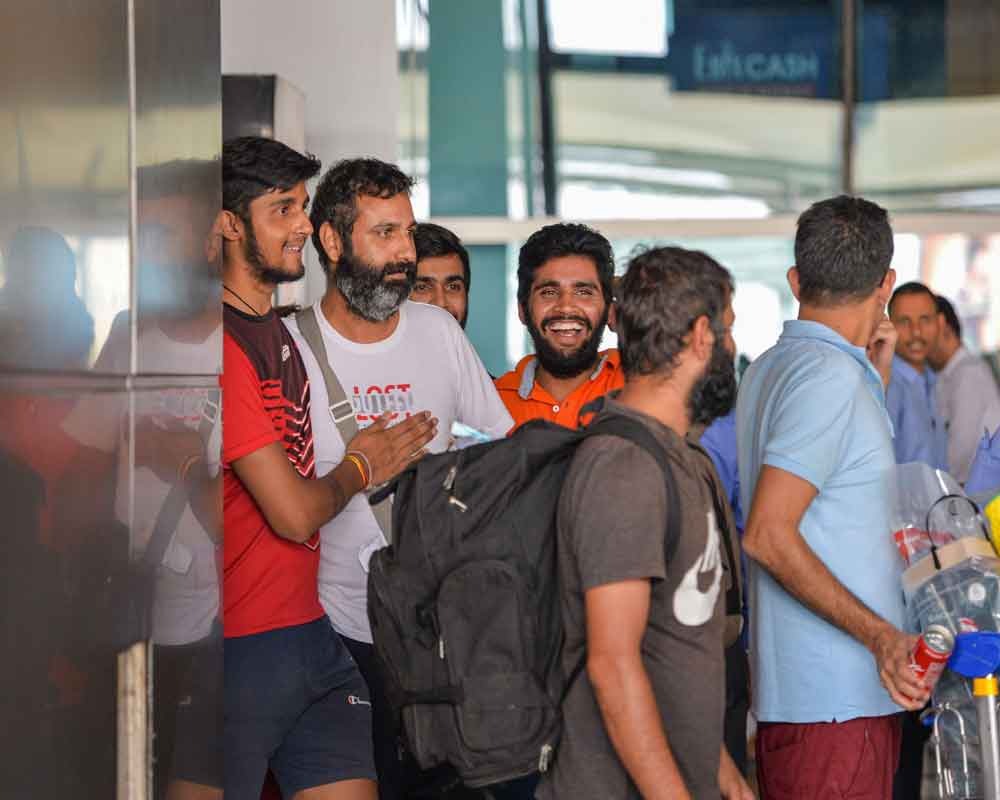 US dream shattered, 311 Indians land in Delhi after deportation from Mexico