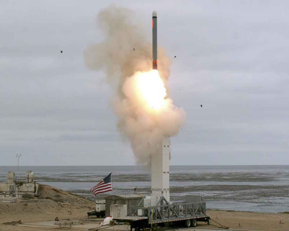 US tests ballistic missile over Pacific