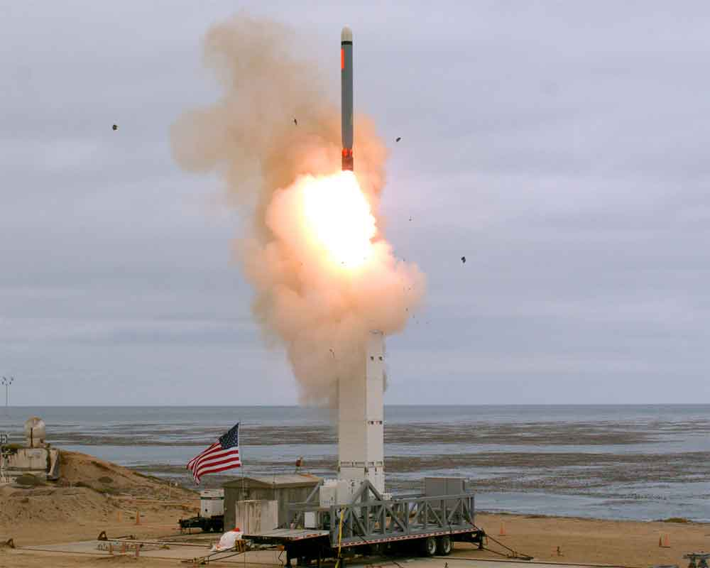 US tests medium-range cruise missile after exiting INF treaty