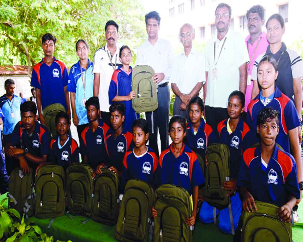 VIT addresses students on their annual summer camp