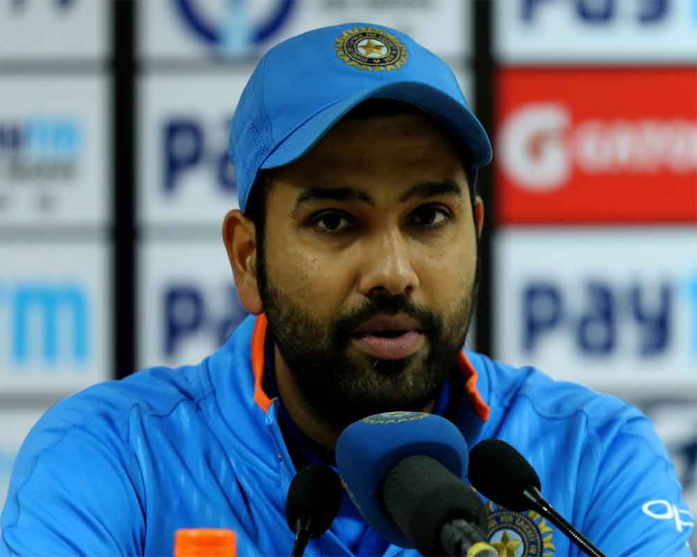 Wanted to bat in difficult conditions to prepare for World Cup: Rohit