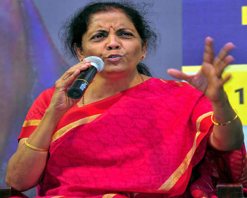 We don't want to politicise armed forces: Nirmala Sitharaman