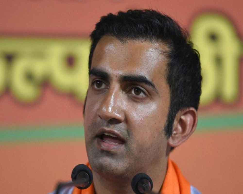 Will hang myself in public if AAP proves allegations: Gambhir on pamphlet row