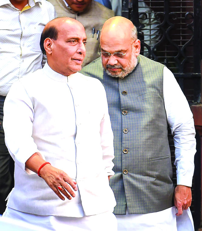 Will Shah walk the talk on Article 370?
