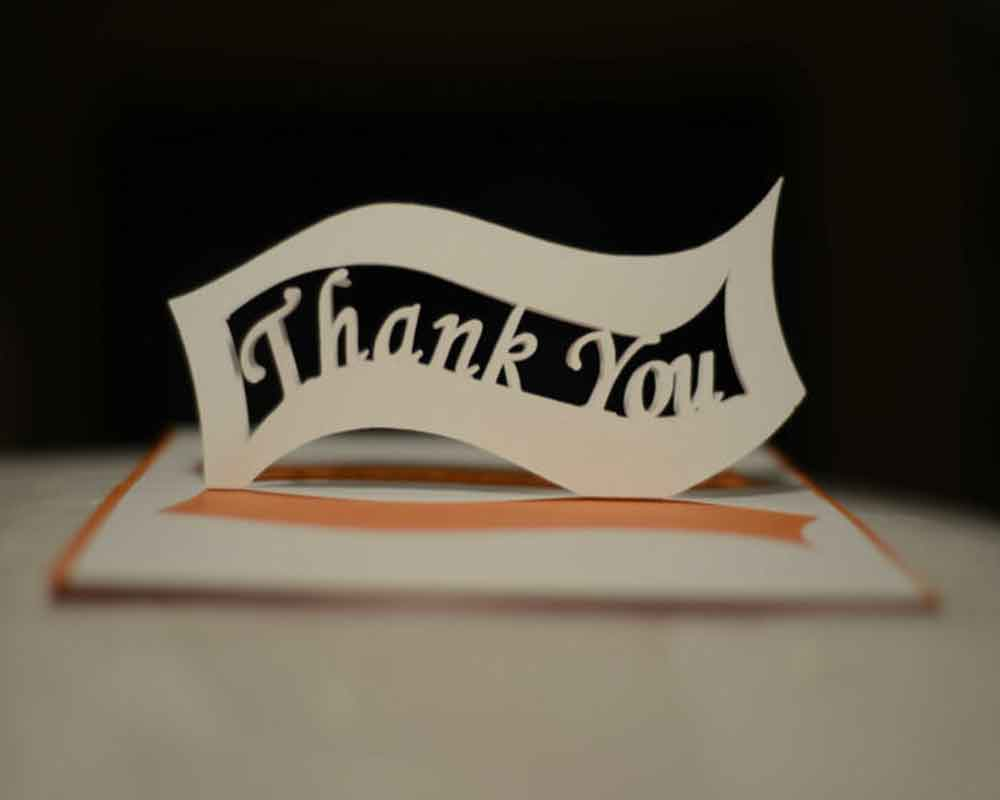Write a personalized thank you letter with printable templates