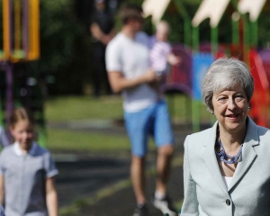 ​​​​​​​Britain's Brexit-beaten PM may step down soon