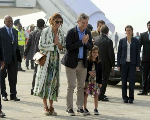 Argentina President arrives in India on 3-day visit