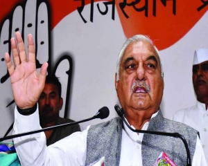 At party workers' meet, Hooda gives call to oust Khattar govt