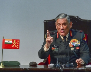 Balakot attack was to ensure terrorists don't carry out action against India: General Rawat