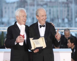 Belgium's Dardenne brothers win best director at Cannes