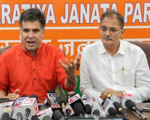 BJP for early abrogation of Articles 370, 35A of the Constitution: Raina