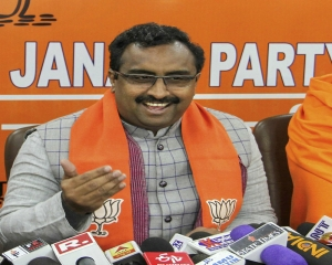 BJP will form stable govt with some friends in J&K: Ram Madhav