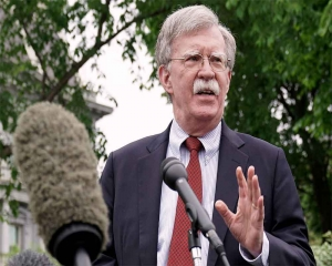 Bolton warns Iran to not mistake US 'prudence' for 'weakness'