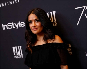 Can't believe I'm working with Jon Snow: Salma Hayek