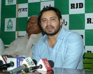 Centre should declare Bihar flood & drought as natural Disaster: Tejashwi