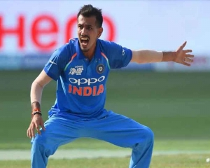 Chahal has proved his value again in middle overs: Rohit