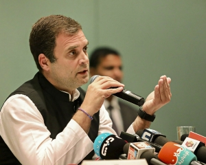 Cries of help are of those wanting freedom from tyranny: Rahul on Modi's 'bachao' jibe