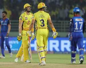 CSK beat DC by six wickets to enter 8th IPL final