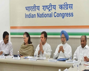 CWC unanimously rejects Rahul's offer to step down as Cong president after poll debacle