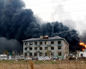 Death toll climbs to 64 in one of China's worst industrial blasts in recent years