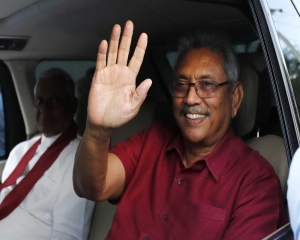 Gotabaya Rajapaksa sworn in as Sri Lankan President