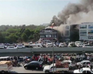 Surat: 19 students die as fire engulfs commercial complex