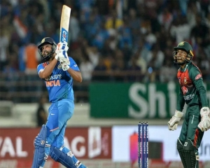 India post 174 for 5 against Bangladesh in 3rd T20