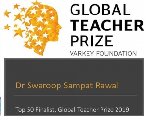 Indian actor and teacher Swaroop Rawal among 10 finalists for Global Teacher Prize 2019