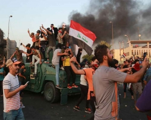 Iraq protest death toll nears 100: rights panel