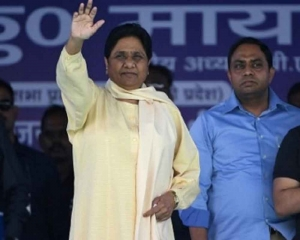 I-T dept attaches Rs 400 cr 'benami' plot in Noida belonging to Mayawati's brother, wife