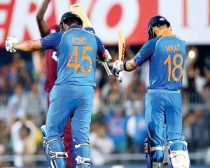 Kohli, Rohit on verge of creating another partnership record