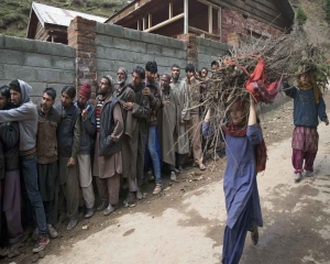 Less than 5 per cent voter turnout in J-K's Anantnag in four hours of polling