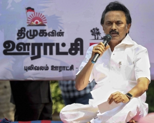 Lok Sabha polls will be second fight for Independence: Stalin