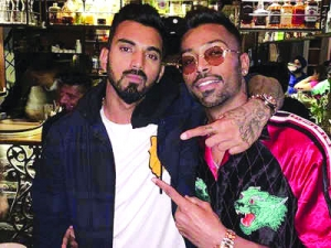 Loose talk on women to cost cricketers Pandya, Rahul Rs 20 lakh each