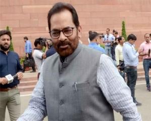 Minority Affairs Ministry team in Kashmir on Aug 27-28 to identify devp projects: Naqvi