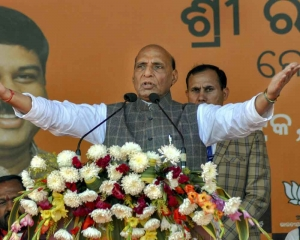 Morale of armed forces high: Rajnath