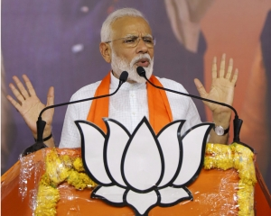 Next 5 years is time to regain India's lost position in world: Modi