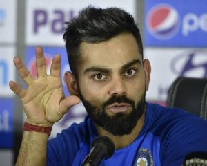 No confusion just need to discuss about one slot: Kohli