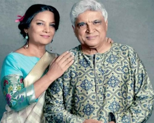 Pak arts community disappointed over Shabana Azmi, Javed Akhtar cancelling  Karachi visit
