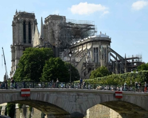 Paris's Notre-Dame to celebrate first mass after fire