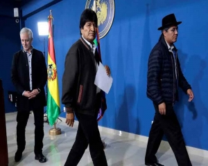 Plane carrying Bolivia's Morales to Mexico takes off: Mexican FM