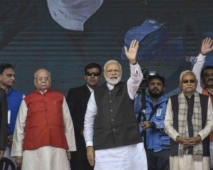 PM inaugurates, lays foundation stone of projects worth Rs 33,000 cr in Bihar