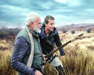 PM invites people to watch him in 'Man Vs Wild' tonight