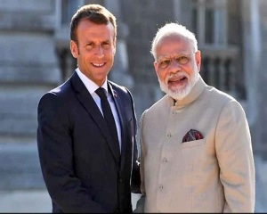 PM Modi holds marathon talks with French President Macron