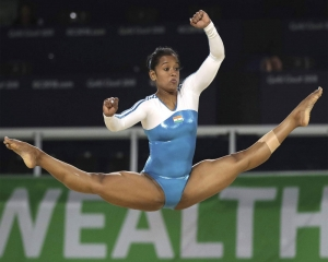 Pranati qualifies for vault finals at  Senior Asian Artistic Gymnastics