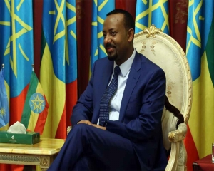 Pressured at home, Ethiopia PM picks up Nobel Peace Prize