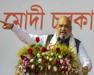 Rahul Gandhi should announce name of leader of oppn alliance: Amit Shah